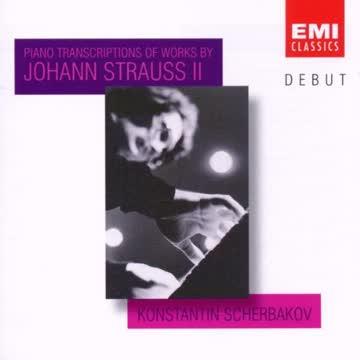 Konstatin Scherbakow - Debut - Konstantin Scherbakov (Klaviertranskriptionen von Werken von Johann (Sohn) Strauß)