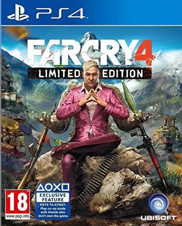 Far Cry 4 Limited Edition [AT-PEGI] - [Playstation 4]