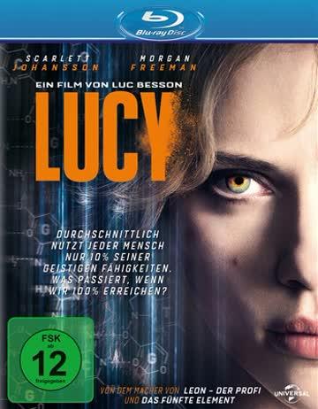 LUCY - MOVIE [Blu-ray] [2014]