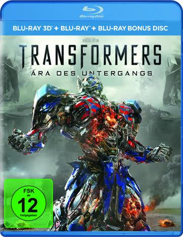 TRANSFORMERS 4 3D - MOVIE [Blu-ray] [2014]
