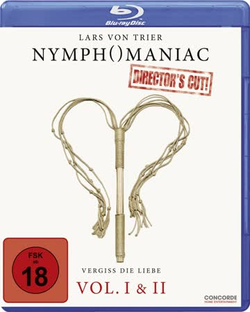 Nymphomaniac Director's Cut Vol. I & II (BR) DE-Version