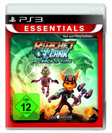 Ratchet & Clank: A Crack in Time [Essentials] - [PlayStation 3]