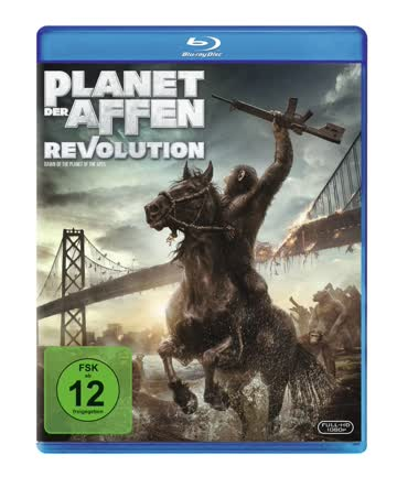 Planet der Affen - Revolution [Blu-ray]