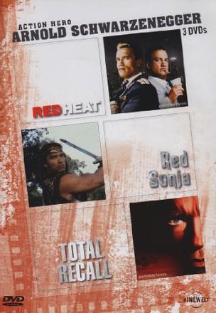 Arnold Schwarzenegger: Red Heat / Red Sonja / Total Recall [3 DVDs]