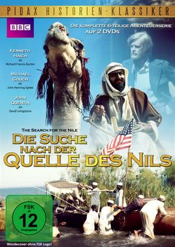 Die Suche nach der Quelle des Nils (Search for the Nile) - Die komplette 6-teilige Abenteuerserie (Pidax Serien-Klassiker) [2 DVDs]