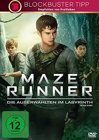 MAZE RUNNER - VARIOUS [DVD] [2014]