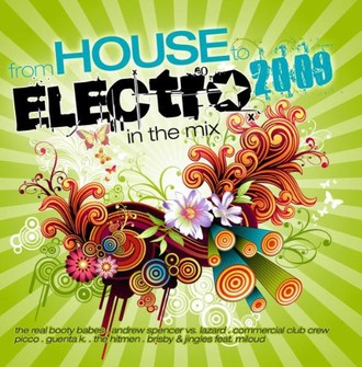 Various - From House to Electro 2009-in the Mix