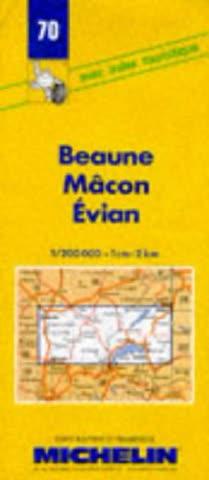 Beaune, Macon, Evian (Michelin Maps)