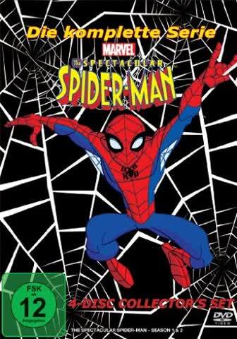 SPECTACULAR SPIDER-MAN - MOVIE [DVD] [2008]