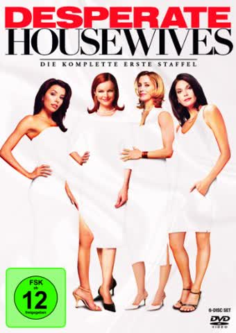 Desperate Housewives - Die komplette erste Staffel [6 DVDs]