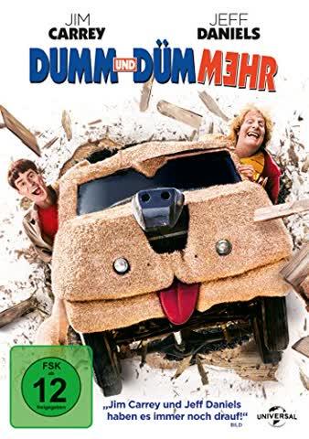 DUMM UND DUEMMEHR - MOVIE [DVD] [2014]