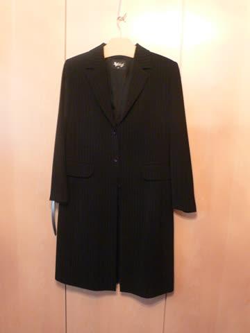 Mantel Schwarz Marke Butik Dayi Grösse 42 Günstig Gebraucht