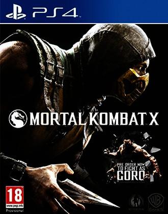 Mortal Kombat X - [Playstation 4]