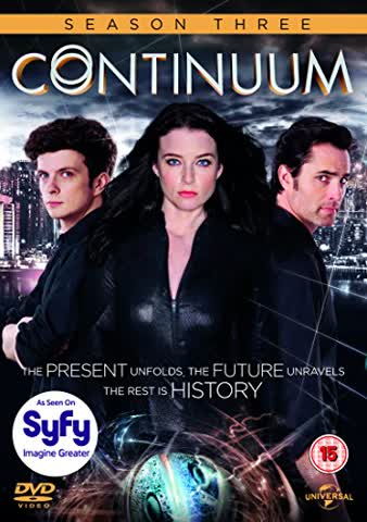 Continuum: Season 3 [3 DVDs] [UK Import]