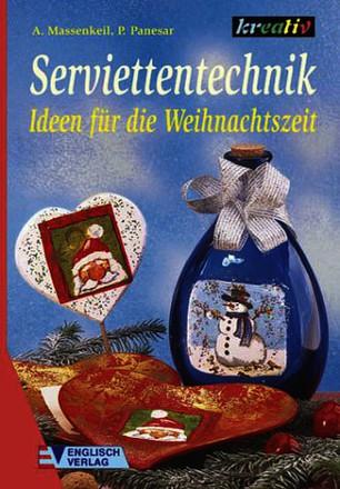 Serviettentechnik, Ideen für die Weihnachtszeit
