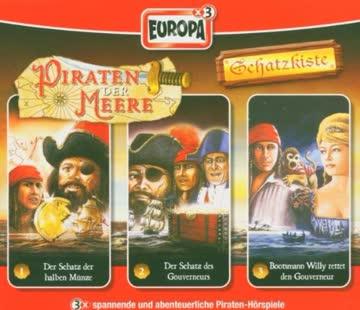 Piraten der Meere-Schatzkiste 01/3er Box-Schatzkiste