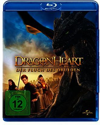 Dragonheart 3 - Der Fluch des Druiden [Blu-ray]