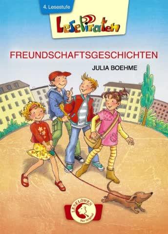 Lesepiraten - Freundschaftsgeschichten: Großbuchstaben