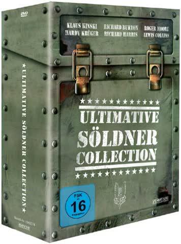 Ultimative Söldner Collection (4 DVDs)
