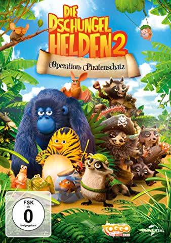 Die Dschungelhelden 2 - Operation: Piratenschatz