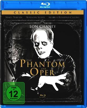 Das Phantom der Oper - digital remastered [Blu-ray]