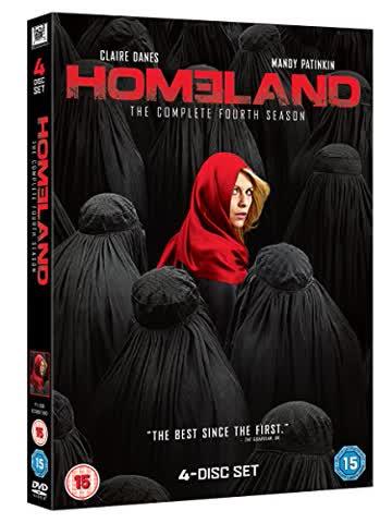 Homeland: Season 4 [4 DVDs] [UK Import]