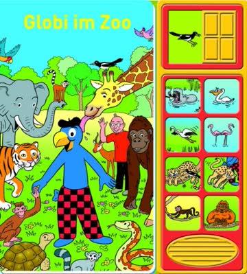 Geräusche-Buch - Globi im Zoo