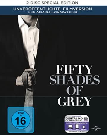 Fifty Shades of Grey - Geheimes Verlangen (Digibook) [Blu-ray] [Limited Edition]