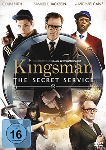 Kingsman - The Secret Service (DVD) DE-Version
