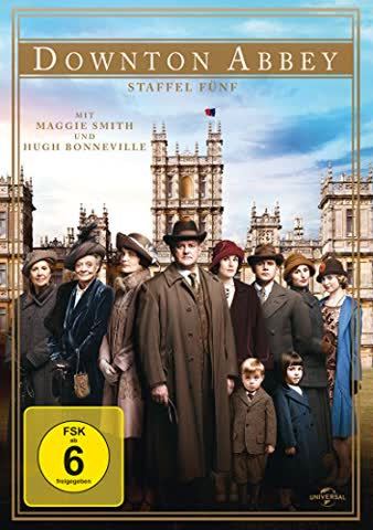 Downton Abbey - Staffel 5 [4 DVDs]