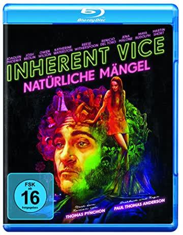 INHERENT VICE (BLU-RAY) - VARI