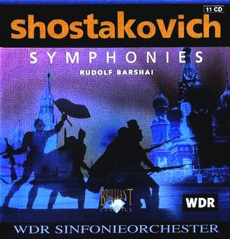 Rudolf Barshai - Shostakovich: Complete Symphonies