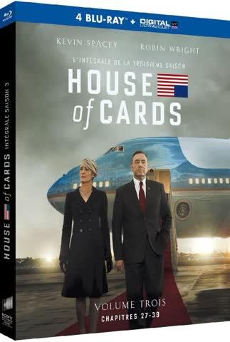 House of Cards - Saison 3 [Blu-ray + Copie digitale]