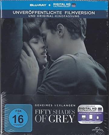 Fifty Shades of Grey - Geheimes Verlangen (Steelbook - Blu-ray) (inkl. Digital HD Ultraviolet) (Limited Edition)