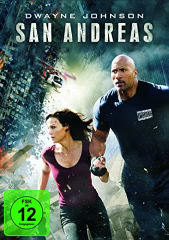 San Andreas (FSK 12 Jahre) DVD