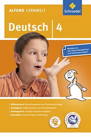 Alfons Lernwelt Lernsoftware Deutsch 4. CD-ROM