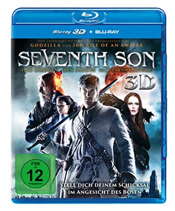 Seventh Son (+ BR) [3D Blu-ray]