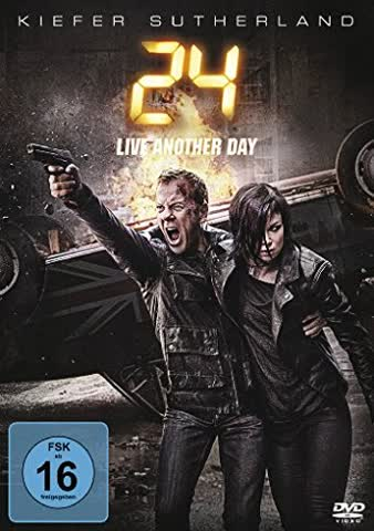 24 Live Another Day: Season 9 (FSK 16 Jahre) DVD