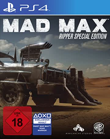 Mad Max - Ripper Edition (exkl. bei Amazon.de) - [PlayStation 4]