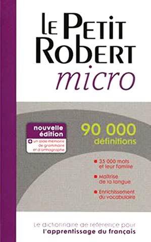 Petit Robert micro
