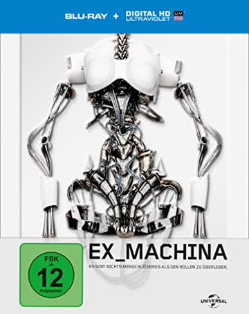 Ex Machina - Steelbook [Blu-ray] [Limited Edition]