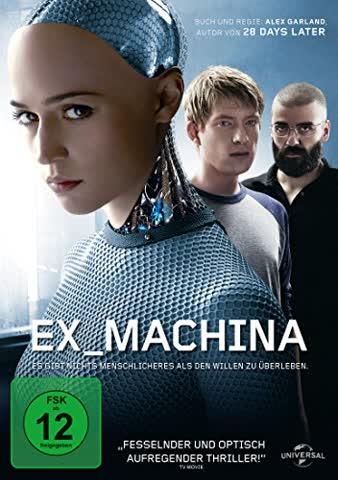 Ex_Machina (FSK 12 Jahre) DVD [2014]