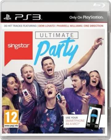 Singstar PS-3 Ultimate Party AT [German Version]