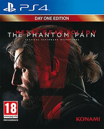 Metal Gear Solid 5 The Phantom Pain Day 1 Edition (AT-PEGI) Playstation 4