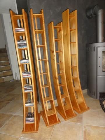 4 cd regale massivholz g nstig gebraucht kaufen bei. Black Bedroom Furniture Sets. Home Design Ideas