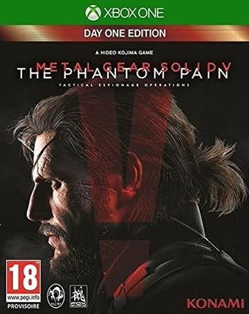 Metal Gear Solid V: The Phantom Pain (Day One AT-PEGI Edition)(XBOX ONE)