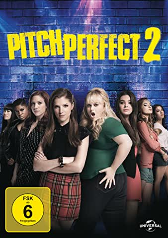 Pitch Perfect 2 (FSK 6 Jahre) DVD