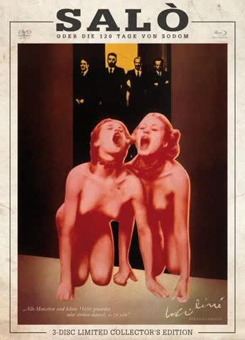 Salò oder die 120 Tage von Sodom (Cover B) (Limited Collector's Edition, Blu-ray & 2 DVDs)