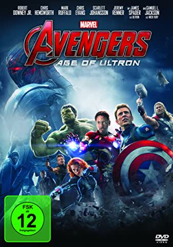 AVENGERS: AGE OF ULTRON - VARI [DVD] [2015]