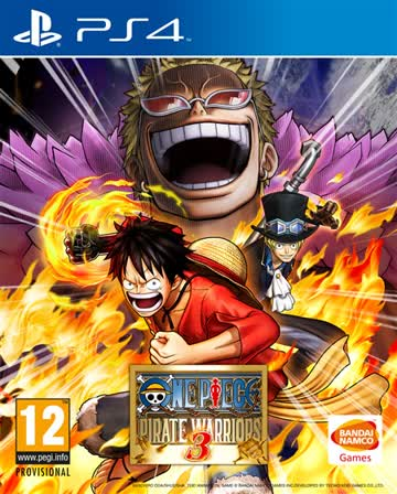 One Piece Pirate Warrior 3 PS-4 AT